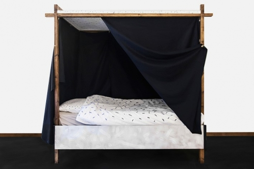 Bachelor bed (single bed version)