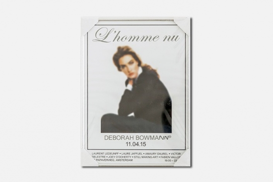 "Poster for ""L'homme nu"""